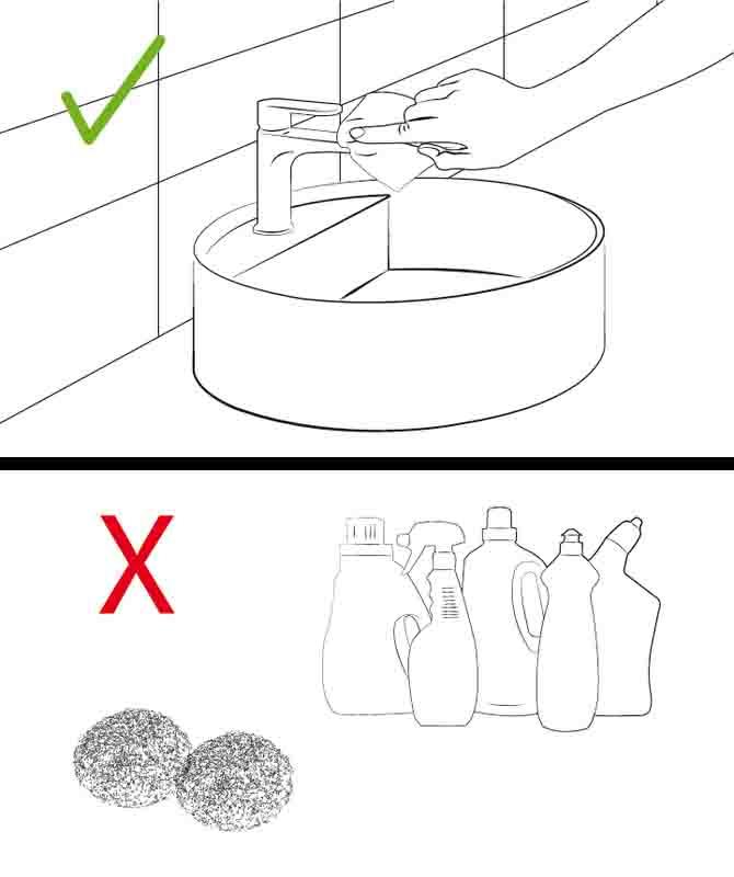 شست و شوی صحیح شیرآلات